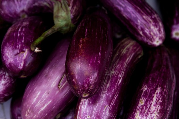 Close-up of eggplant