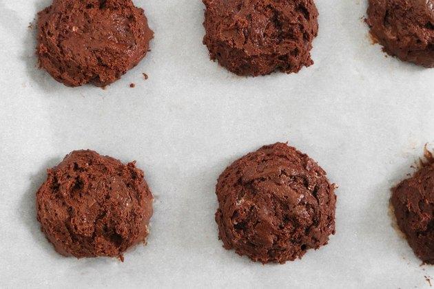 Scoop batter onto baking sheet