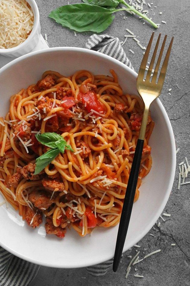 Instat Pot quick spaghetti