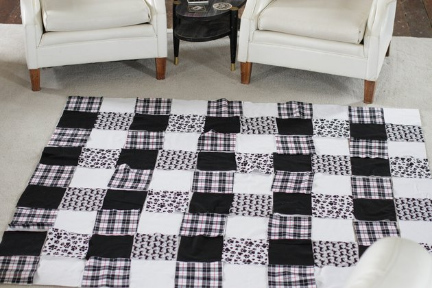 If you've wanted to try your hand at quilting, a rag quilt is the perfect place to start.
