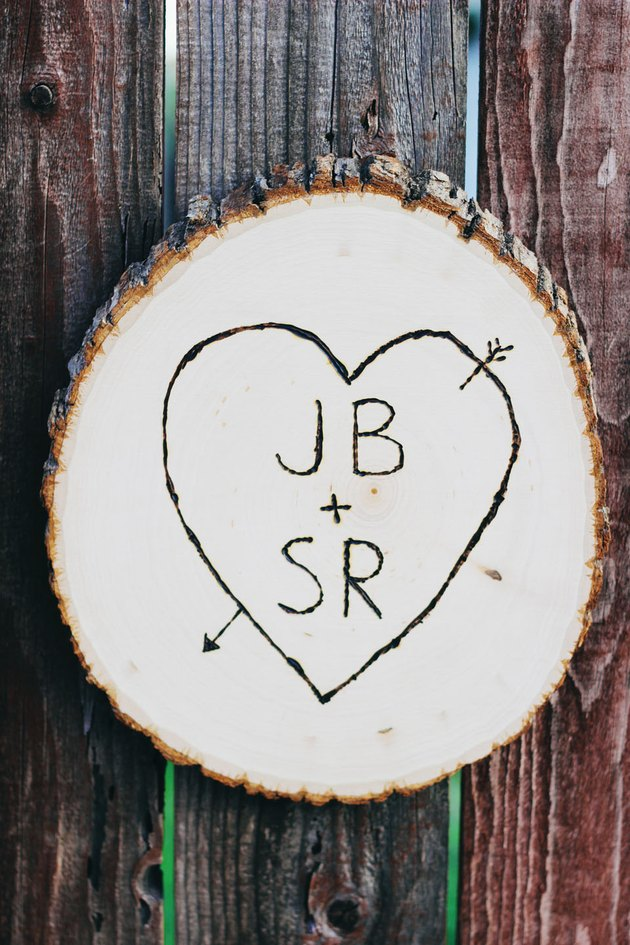 heart initials