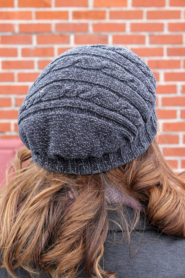 Upcycled Sweater Beret
