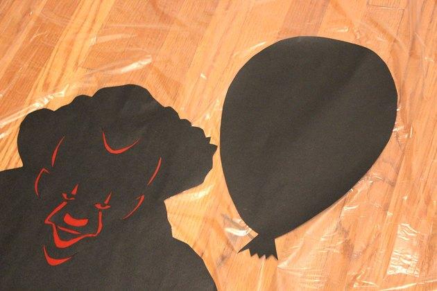 attach silhouettes