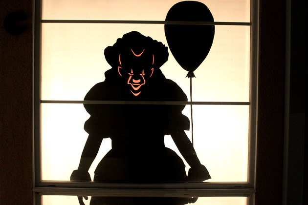 pennywise silhouette