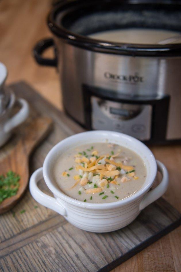 Slow Cooker Chicken Corn Chowder Recipe