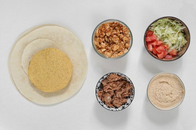 Vegan Crunchwrap ingredients