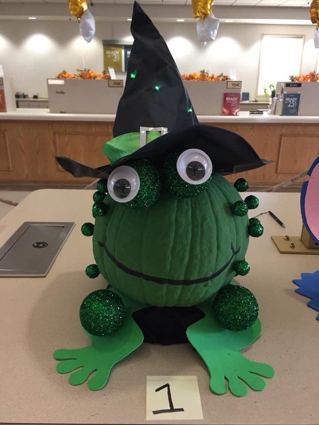 The winner of eHow's pumpkin decorating contest.