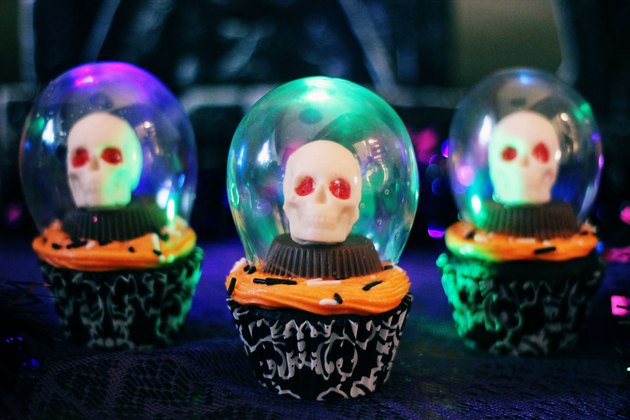 crystal ball cupcakes