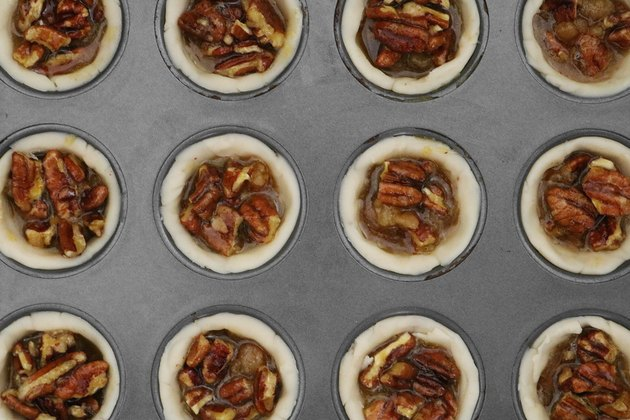 Fill mini pecan pies