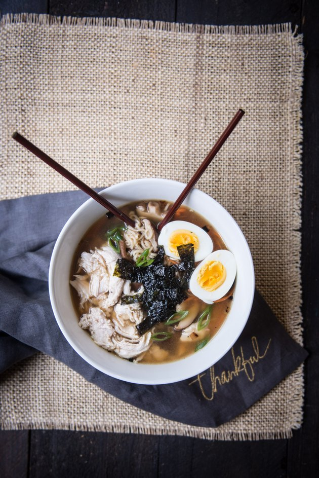 Healthy Turkey Ramen Bowls