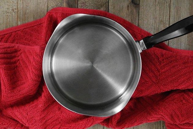 Heat water in pot