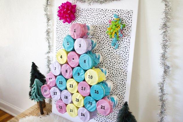 retro advent calendar