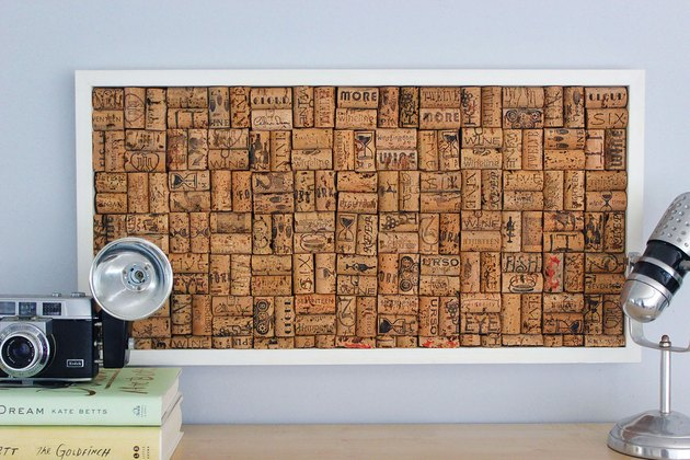 wine cork bulletin