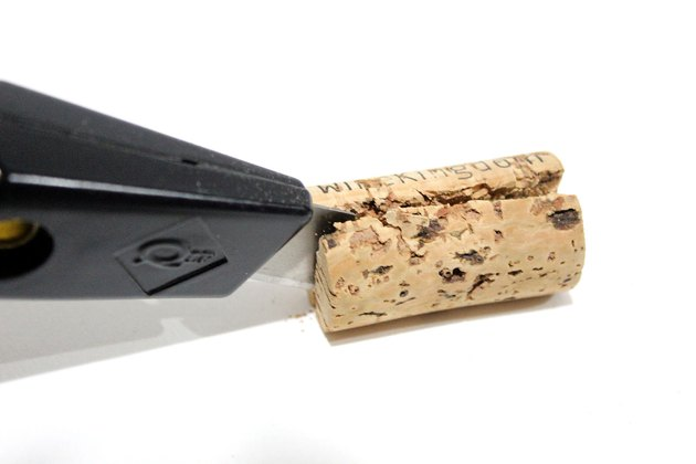 cut cork