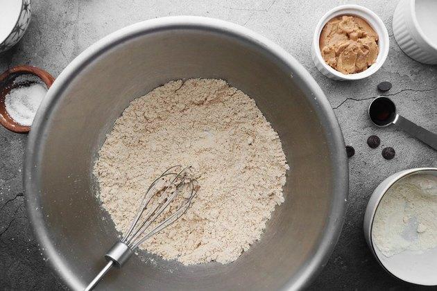 Mix dry ingredients