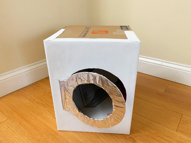 DIY Cardboard Play Washer & Dryer