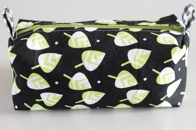 This versatile bag can be used to hold make-up, a shaving kit, school supplies, or even small toys for those car trips.