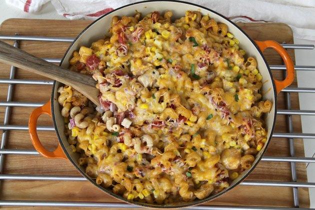 bbq chicken ranch casserole