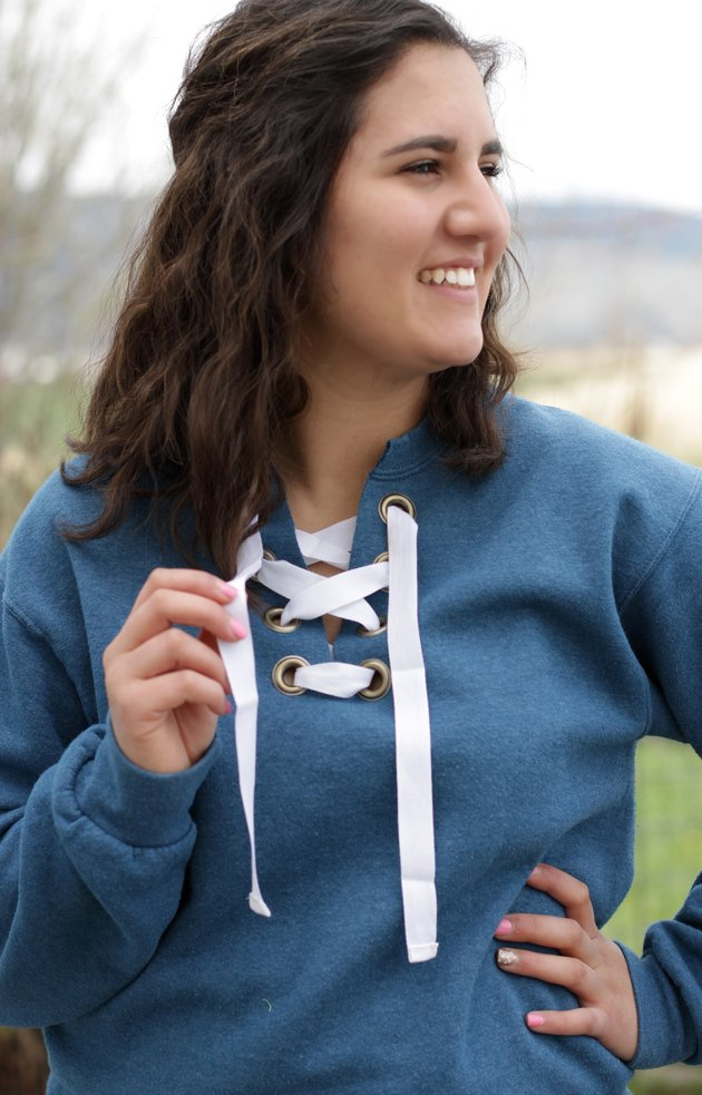 You can bring that cozy feeling into your everyday life by just making a small change to your beloved pullover.