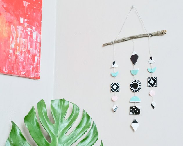 DIY Polymer Clay Wall Art Hanging