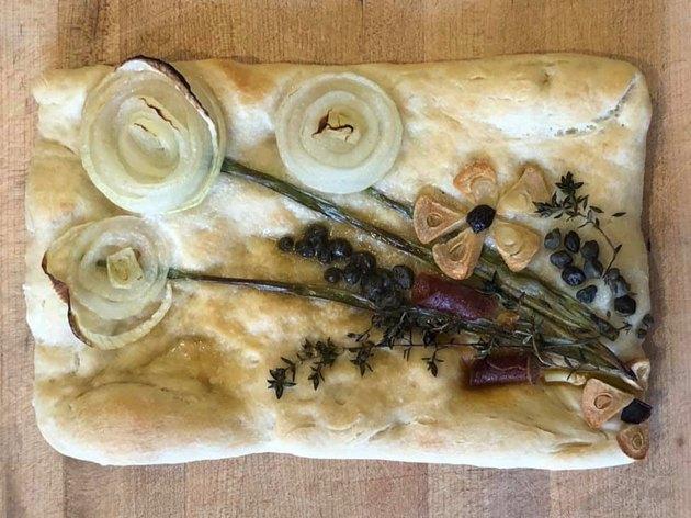 Recipe Spotlight: Jaclyn Marie's Floral Focaccia