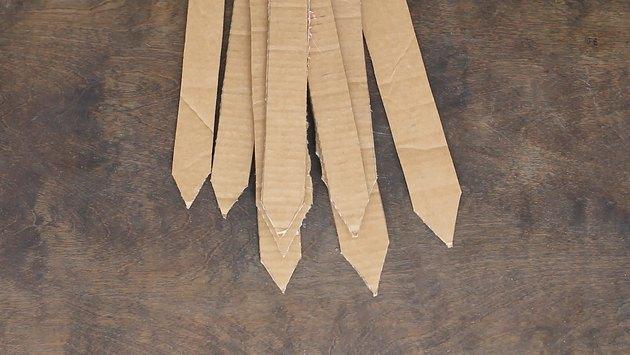 Cardboard spikes