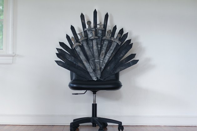 DIY Iron Throne
