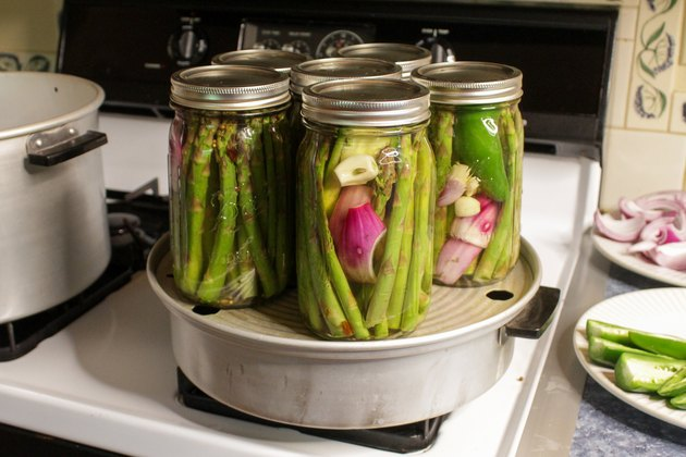 Time to pick up some fresh, local asparagus and get your pickling pants on.
