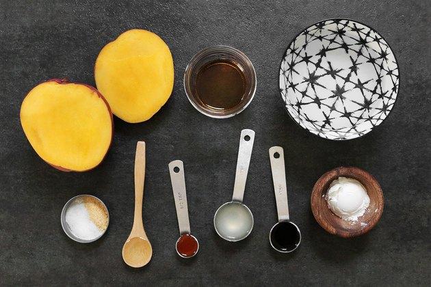 Ingredients for mango habanero sauce