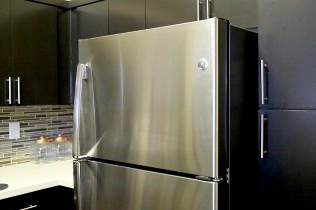Finished fridge