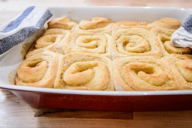 Homemade Sticky Lemon Rolls Recipe