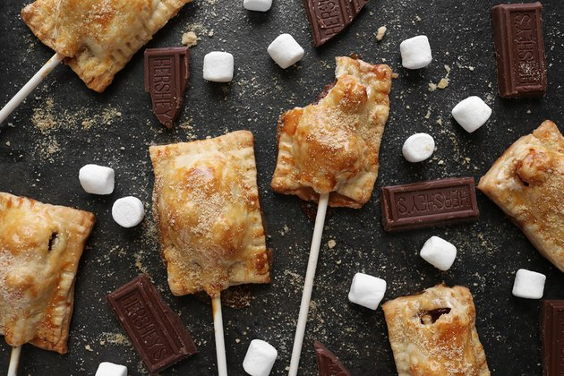 S'mores pie pops recipe