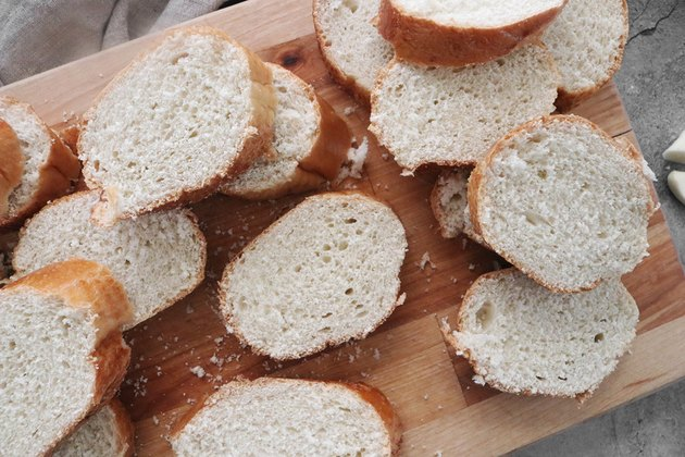 Slice French bread