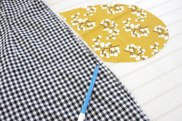 All it takes is a good seam ripper and a little fun fabric to add an in-seam pocket to any piece of clothing in your wardrobe.