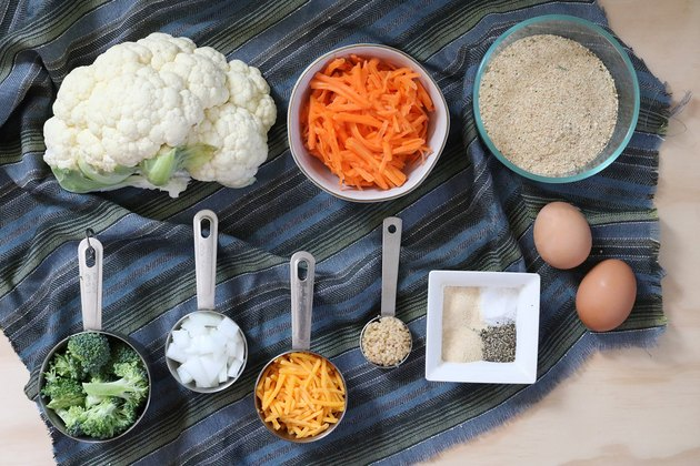 Ingredients for veggie nuggets