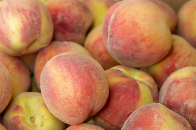 Even though fresh peaches are only available for a few months in the summer, there's no reason you can't enjoy them all year long. Just choose some fresh ripe peaches, grab a few jars, a little sugar, and you'll be on your way to preserving these delightful beauties in no time.