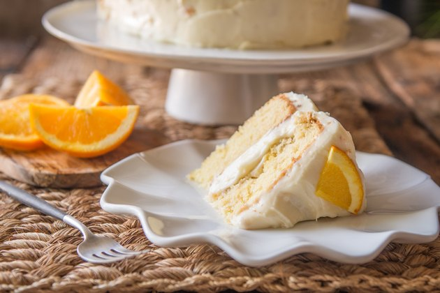 Orange Creamsicle Layer Cake Recipe