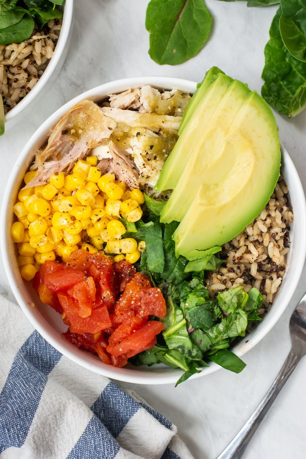 prep taco salad bowls