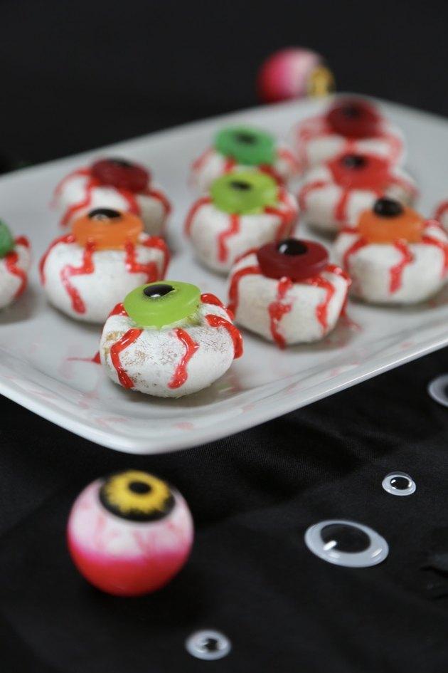 donut eyeballs
