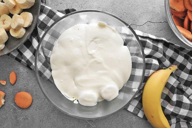 Add pudding