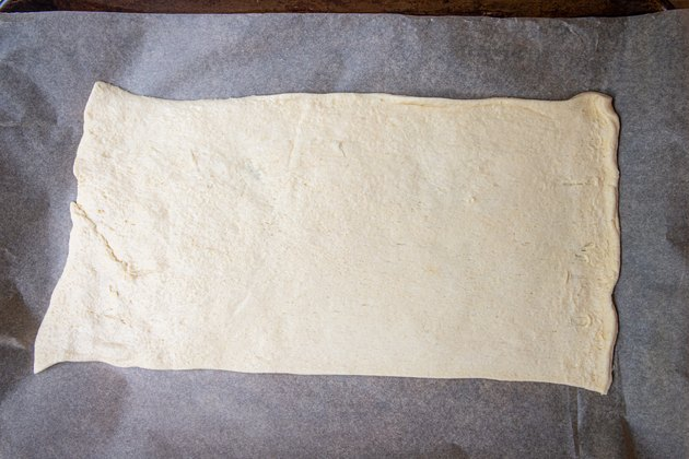 Crescent Roll Pizza Mummy Recipe