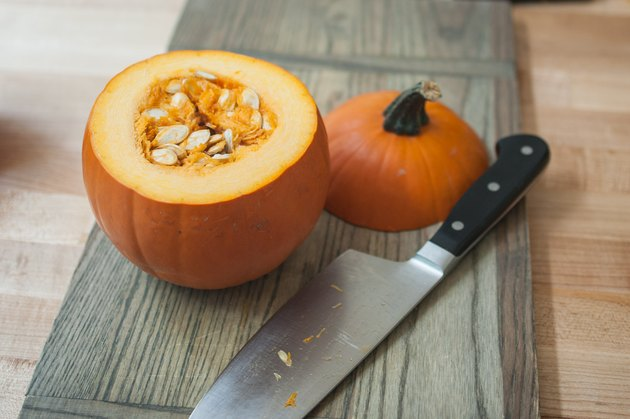 How to Serve Soup in a Pumpkin