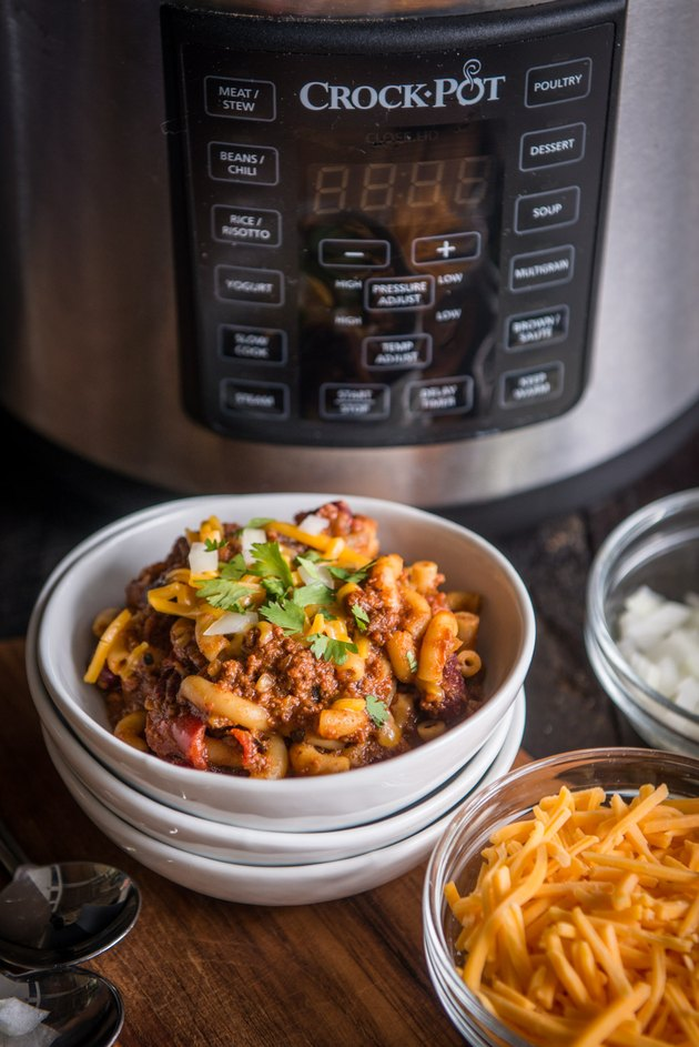 Crockpot Chili Mac Recipe