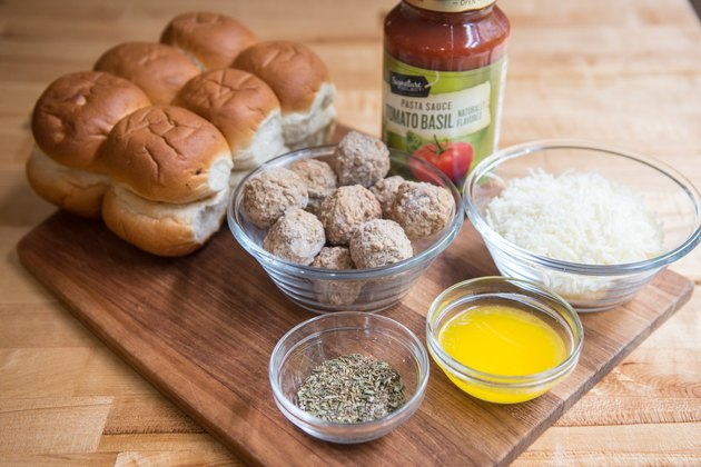 Mozzarella Meatball Sliders Recipe