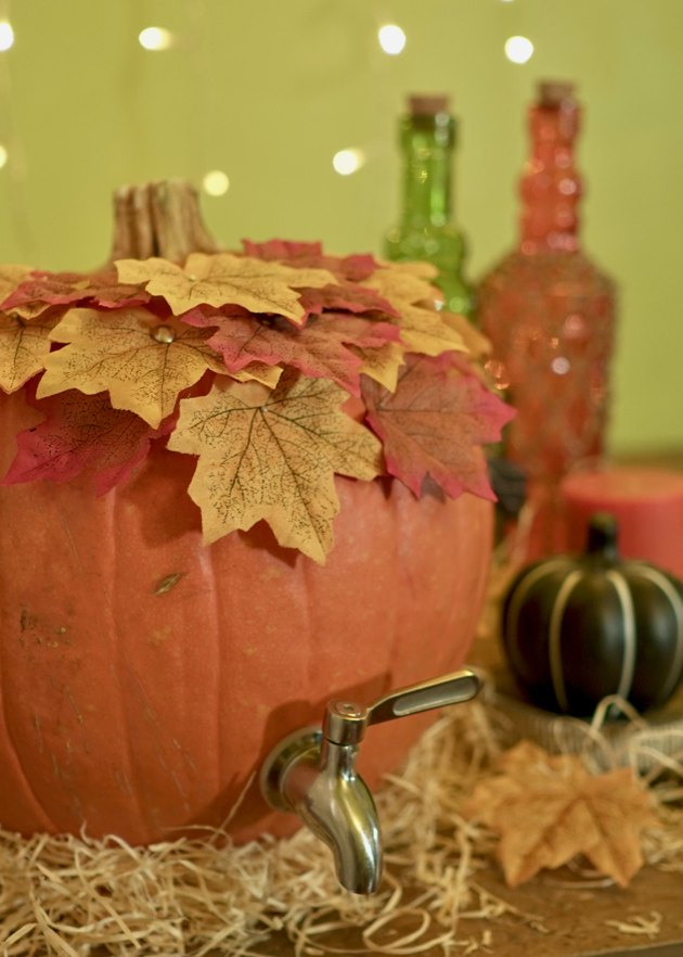 DIY Pumpkin Keg