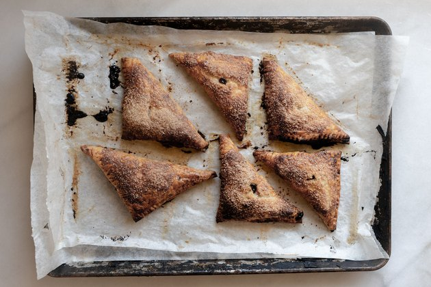 Bake until golden brown and fragrant.