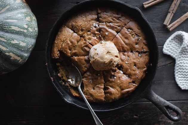 Pumpkin Spice Chocolate Chip Cookie is the most perfect cozy dessert for fall!