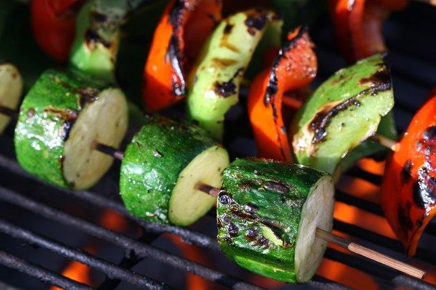 Vegetable Shish Kebob