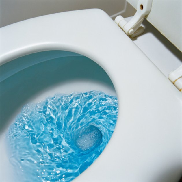 How To Remove Brown Streaks From A Toilet Bowl Ehow