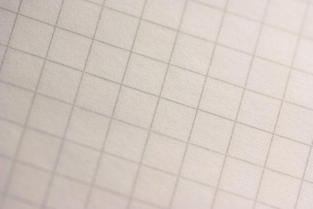 how to make a pattern by using graph paper